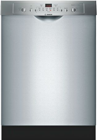 Bosch Ascenta Series Stainless Steel BuiltIn Dishwasher Place - Abt dishwasher
