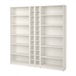Billy Gnedby Bookcase White 78 3 4x11x79 1 2 Bookcase Shelves Cute Furniture