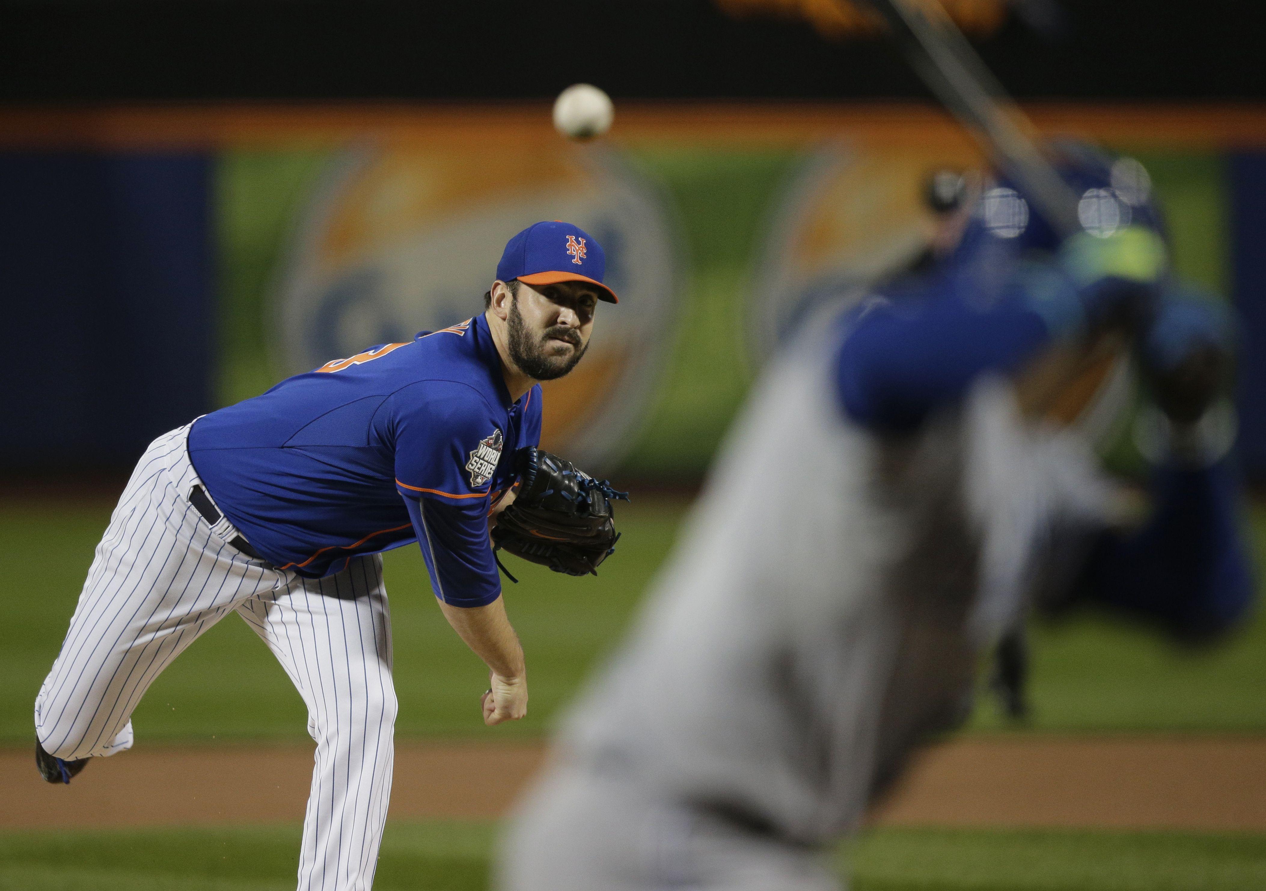 Matt Harvey, NYM///WS Game 5 v KC, Nov 1, 2015