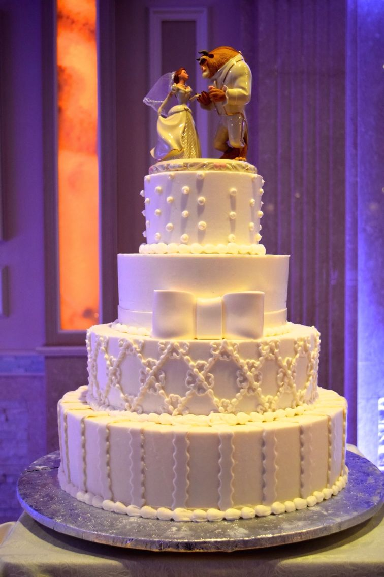 Beauty And The Beast Cake Top Jericho TerraceReception HallsWedding