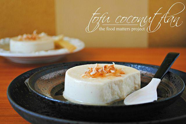 Tofu Coconut Flan Vegan Gluten Free Foodsniffr Blog Vegan