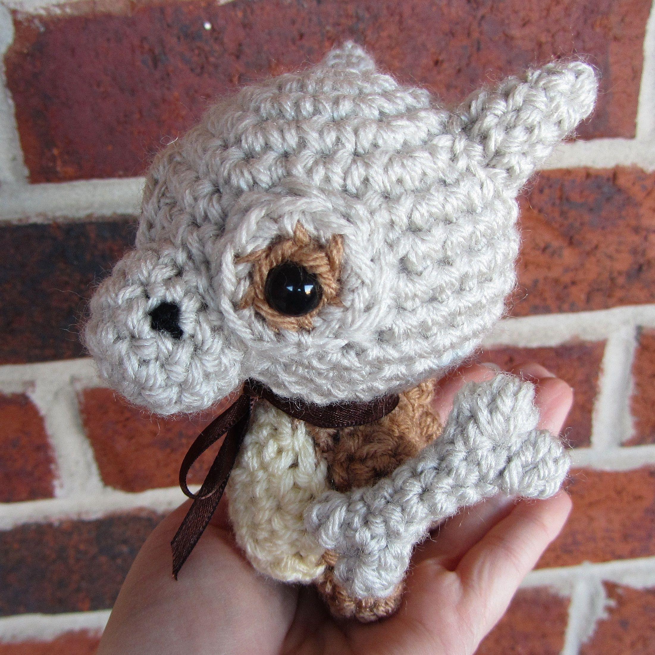 Chibi Pokedex Project - Crochet - Chibi Pokemon Amigurumi - Cubone ...