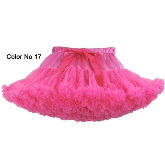 Women Girls Fluffy Carnival Tutu Pettiskirt Toddler Tulle Birthday Party Pleated Princess Tutu Skirt