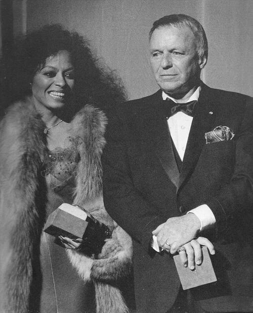 Diana Ross and Frank Sinatra, 1984