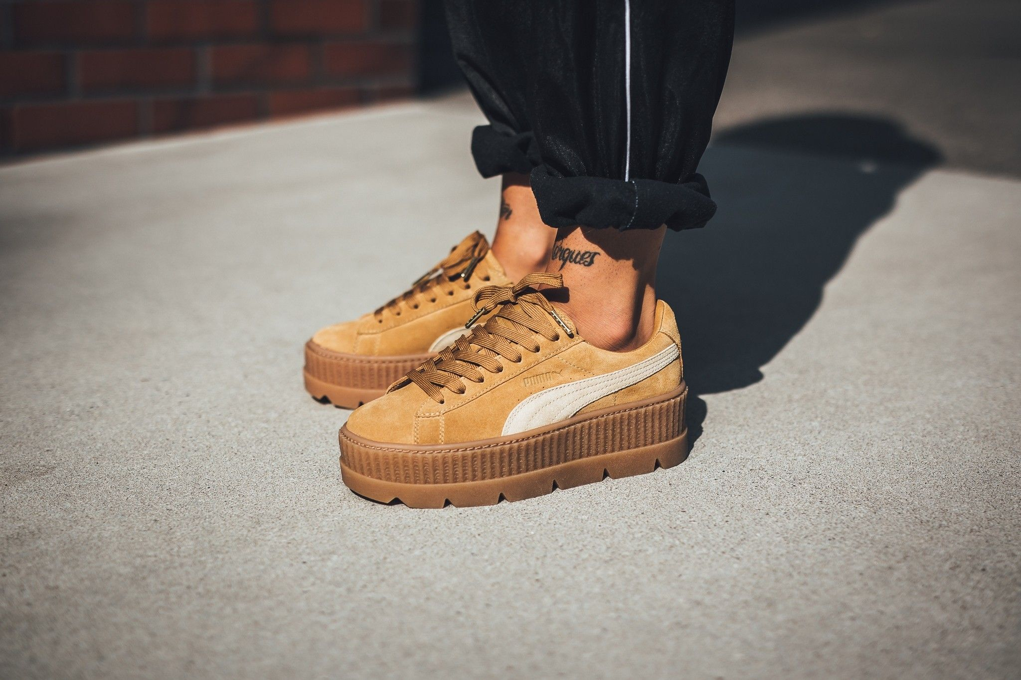 release date bd3b3 1cc07 puma x rihanna cleated creeper 8/31/17 | Sneakers | Suede ...