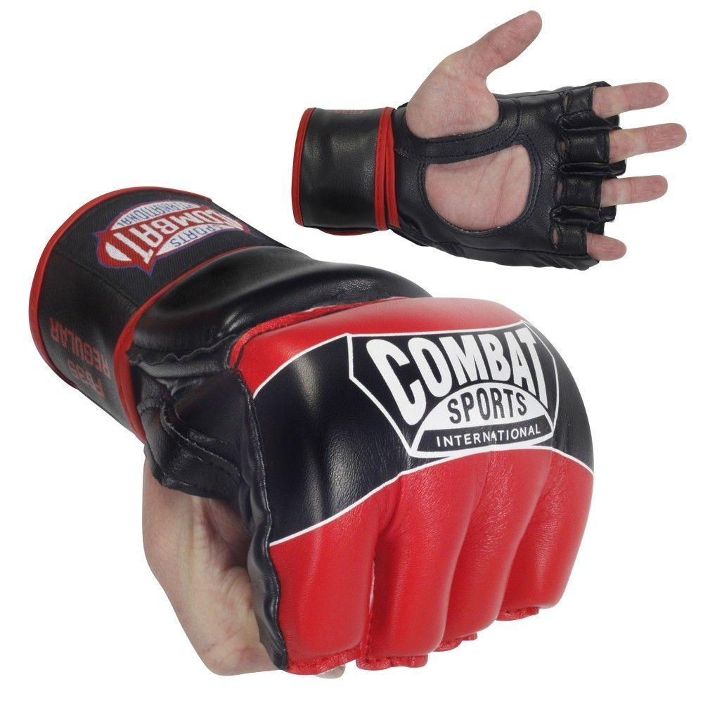 Mens piloxing gloves - Combat Sports Pro Style Mma Gloves Kickboxing Competition Grappling Gym Blue
