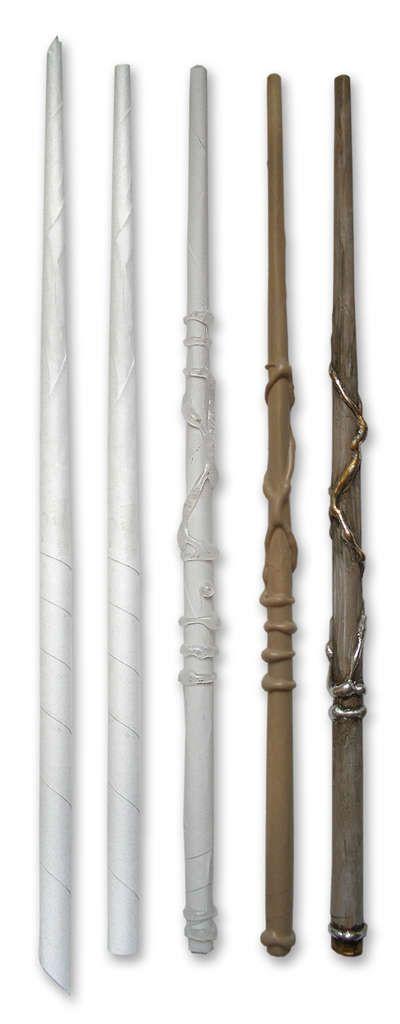 Волшебная палочка Гарри Поттера своими руками 75