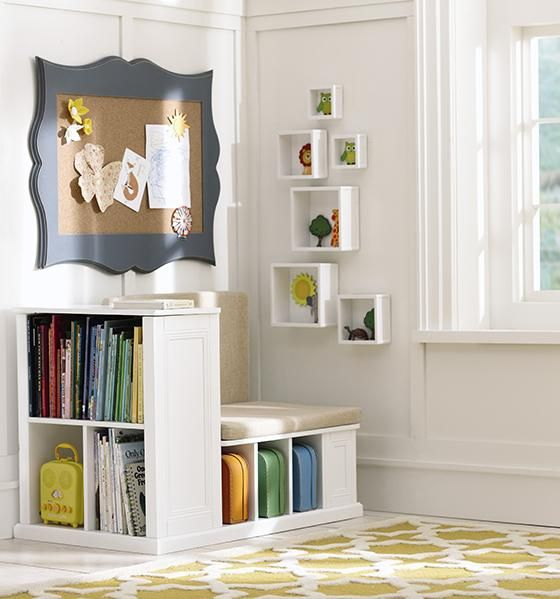 Kid S Reading Nook Need Little Bench Shelf Thingey Seen On