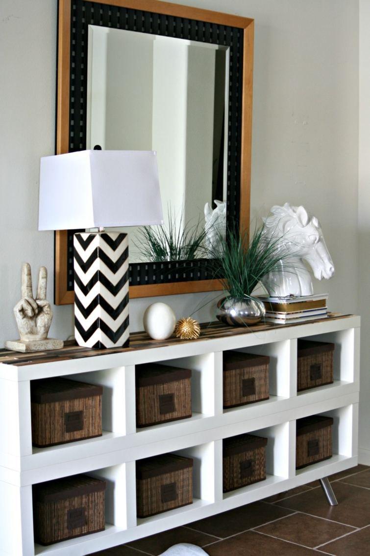 etagere rangement idee origianle | decoration maison | Ikea, Mobilier de salon et Kallax