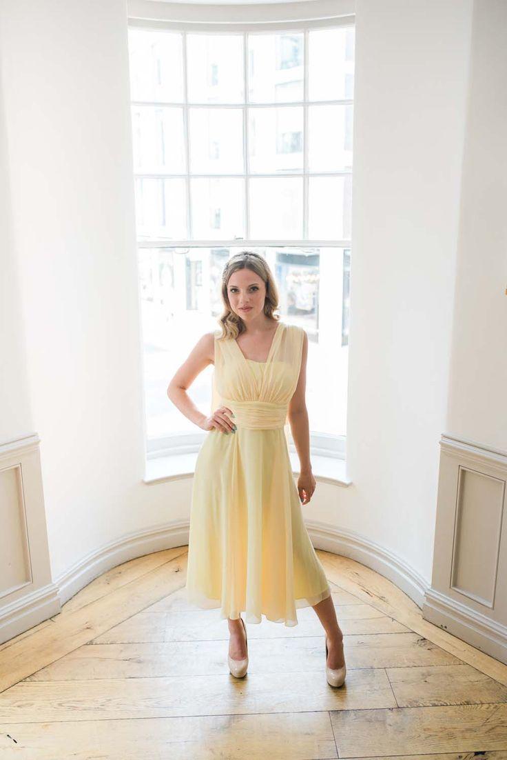 Short multiway dress styles lemon wedding