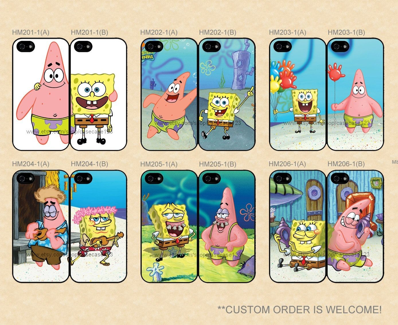 Patrick And Spongebob Best Friends Forever Popular Items For Best Friend Case On Etsy Pictures Be Spongebob Best Friend Best Friend Cases Best Friend Wallpaper