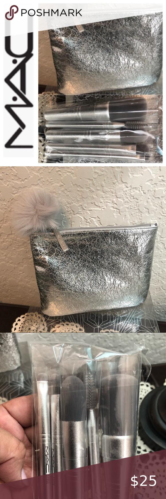 SOLD 🎉M•A•C SNOWBALL BRUSH KIT ️ in 2020 Brush kit