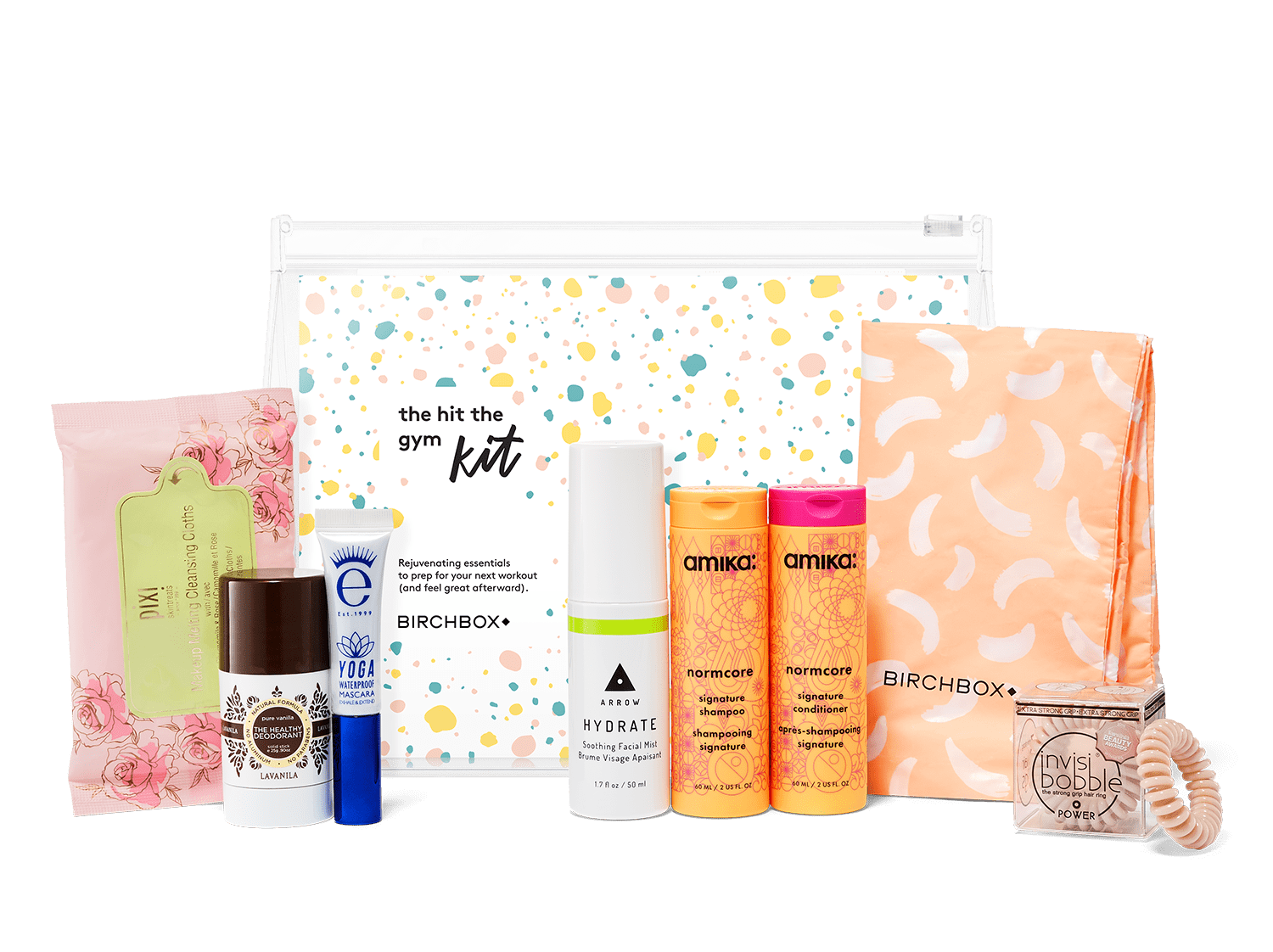 New Birchbox Kit Free Gift Coupons The Hit The Gym Kit