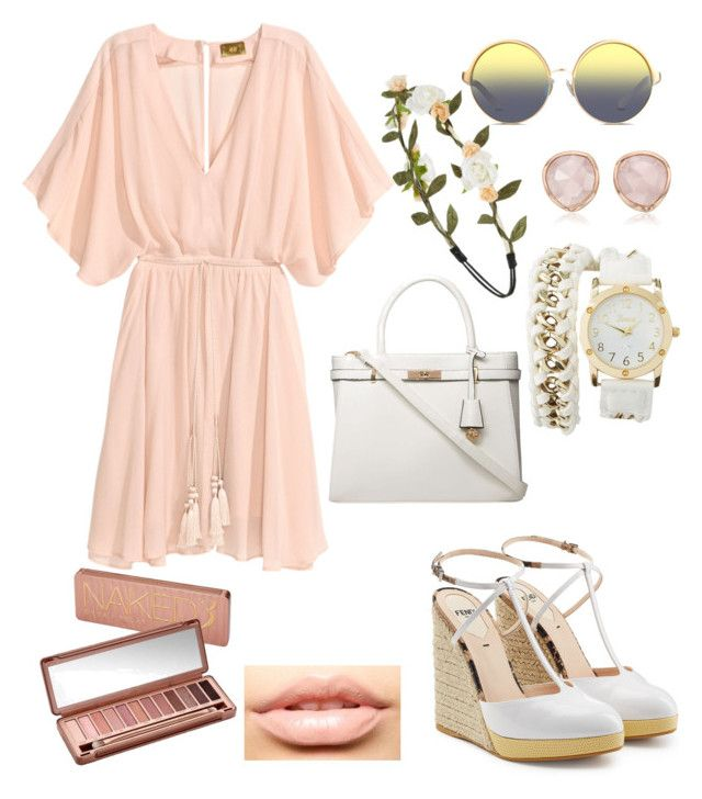 """""""Untitled #87"""" by ribeeirotelminha on Polyvore featuring Fendi, Matthew Williamson, Forever 21, Monica Vinader, Charlotte Russe, MDMflow, Urban Decay and Dorothy Perkins"""