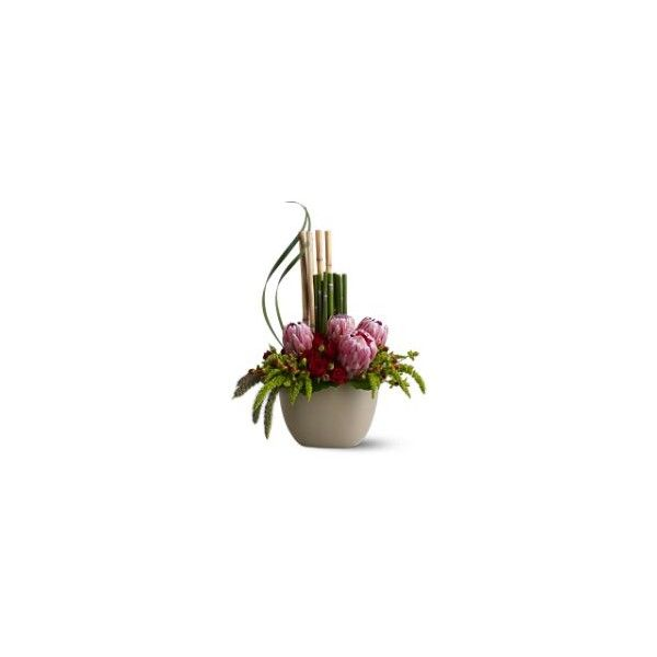 Zen Inspired Flower Bouquets | Zen Flower Arrangements for Peace and Tranquility - Teleflora.com found on Polyvore