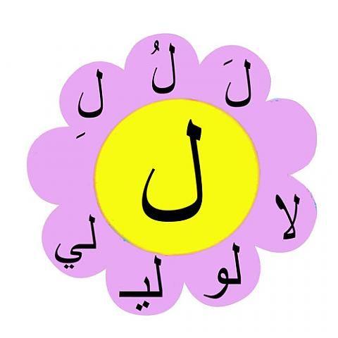 مقاطع اللام موقع الصف الأول أ المعلمة علياء بقاعي Learn Arabic Alphabet Arabic Alphabet For Kids Arabic Alphabet Letters