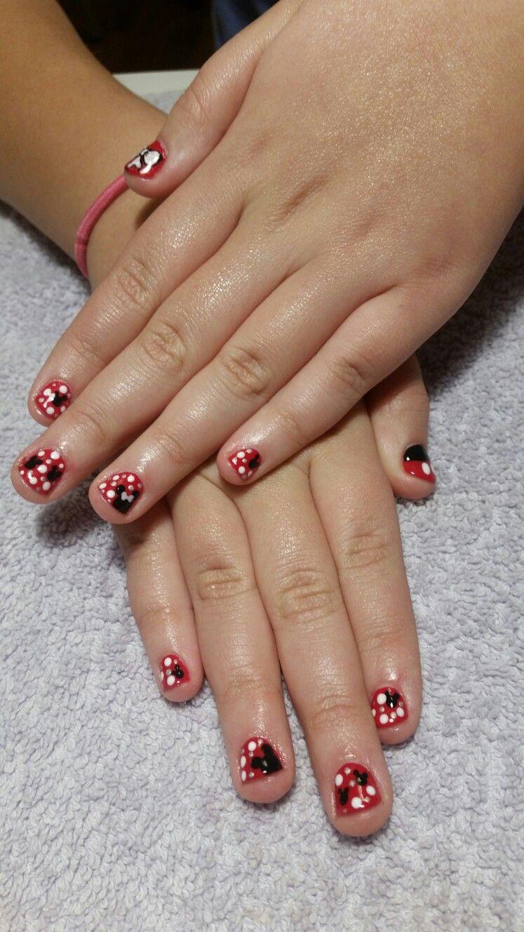 Disney Inspired Shellac Manicure For Children Brickhavenspa Nail