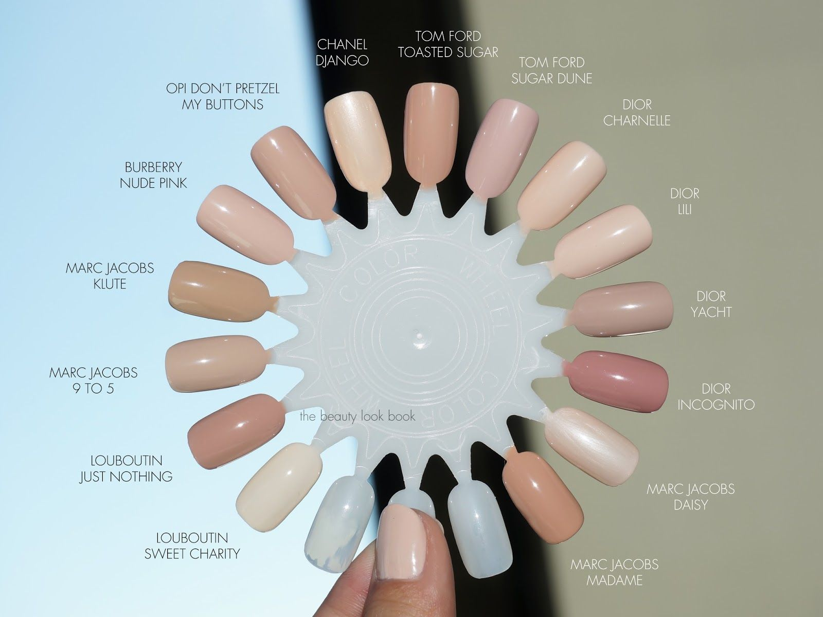 The Beauty Look Book: Color Focus: Pink Nudes for Nails | Beauty ...