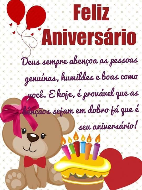 Populares Whatsapp - Mensagem de aniversario para amigo whatsapp  DH17