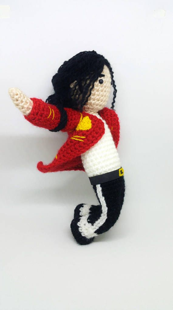 Michael Jackson - David Bowie - mj amigurumi - Freddie Mercury - the ...