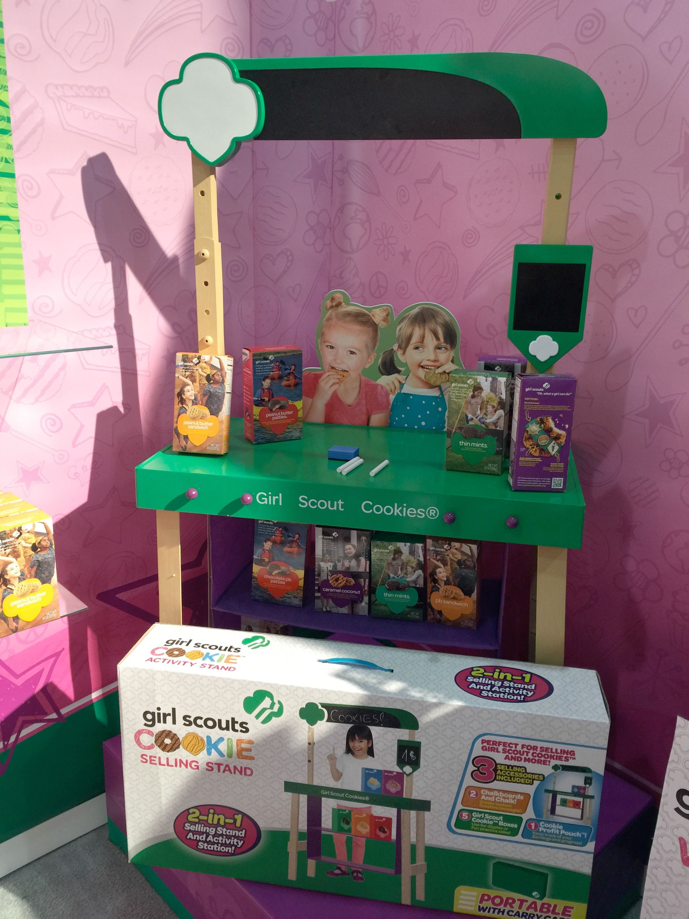 wicked cool toys girl scouts cookie selling activity