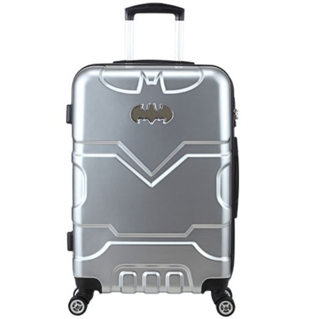 DC Comics Batman Bag Luggage Superman Carryon Rolling ...