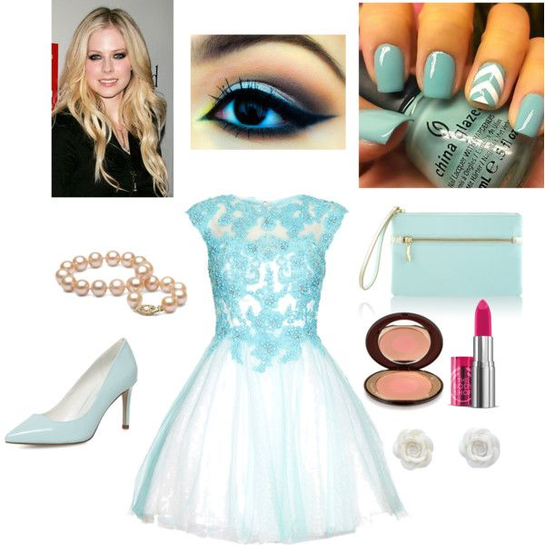 Light Blue Prom Day