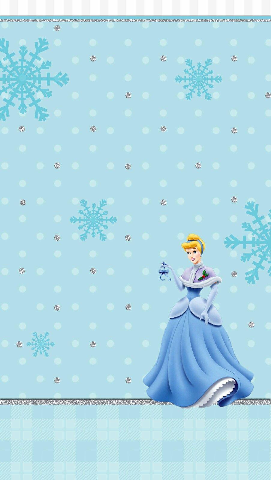 Disney Princess Christmas Iphone Background Disney Cinderella Wallpaper Cartoon Wallpaper