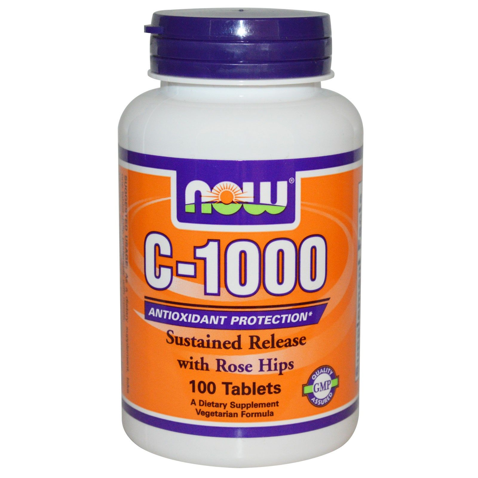 Now Foods, C1000, 100 Tablets Now vitamins, Health