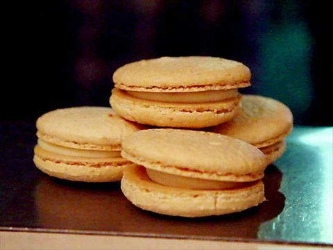Milk And Honey Macarons Video Food Network Food Network Recipes Food Macaron Recipe