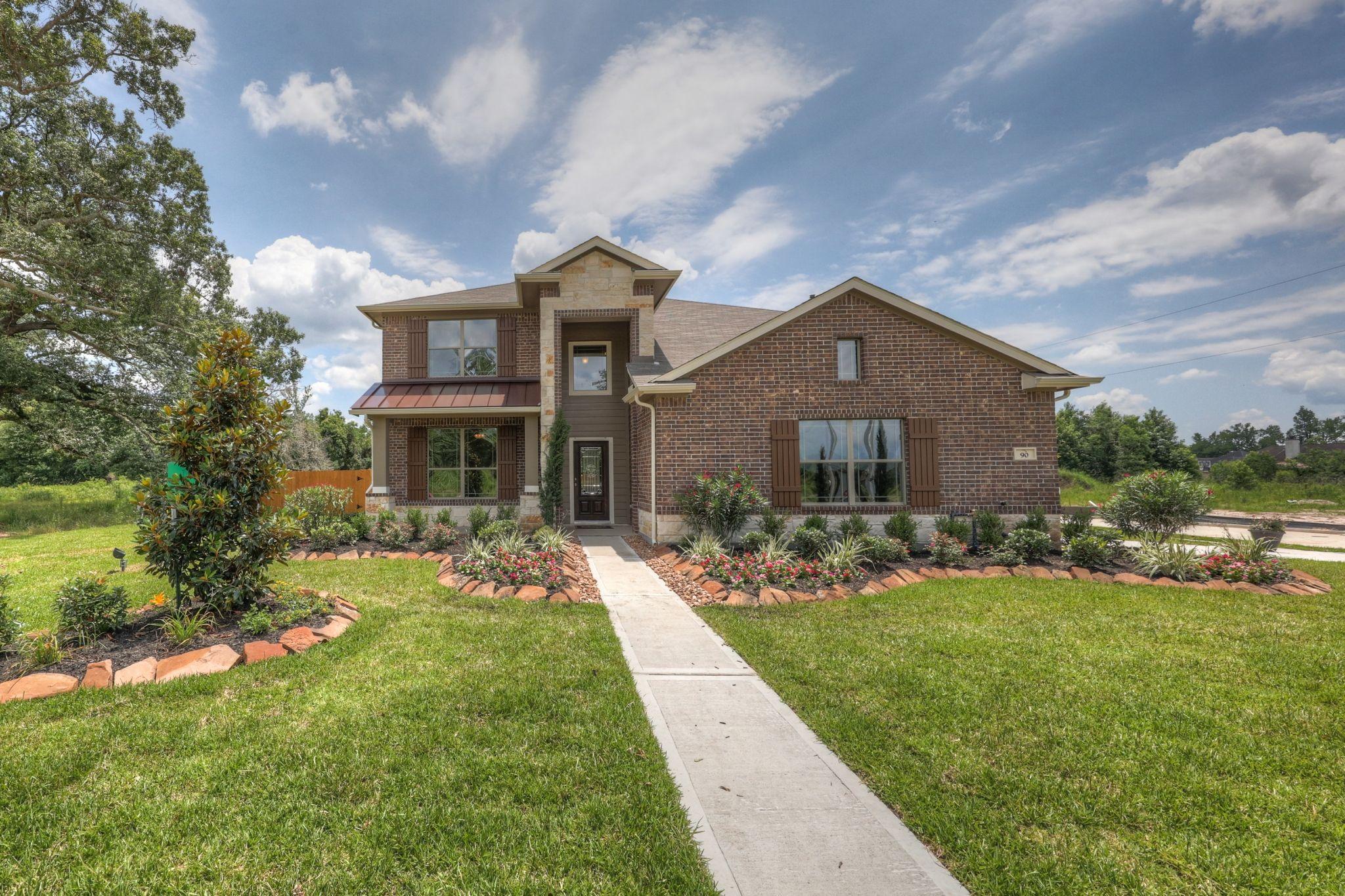 Builder Opens New Section Of Dayton Neighborhood Houston Real