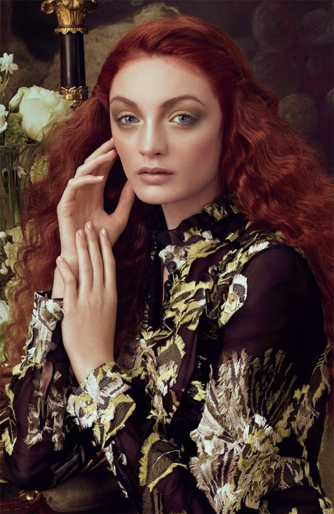 Aveda Channels Royal Portraits in 'Sublime Spirit' Lookbook | David Roemer | Pinterest | Aveda makeup, Aveda hair and Aveda