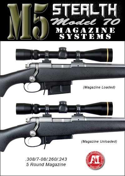 M5 Stealth Dm Detachable Magazine System Winchester