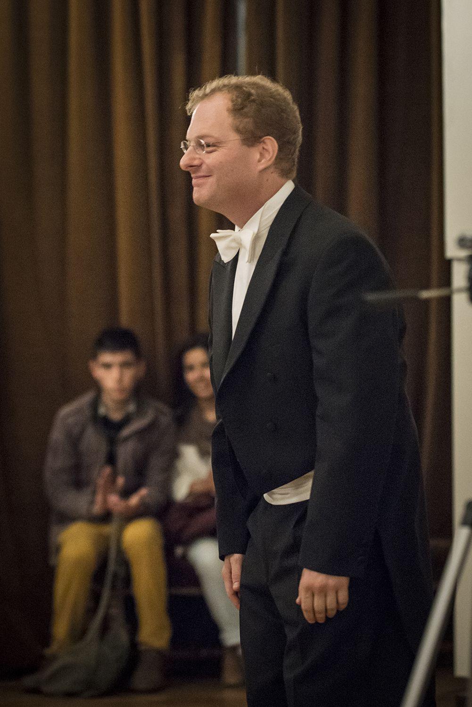 Jóvenes Pianistas - Javier Lanis. Foto: Patricio Melo.