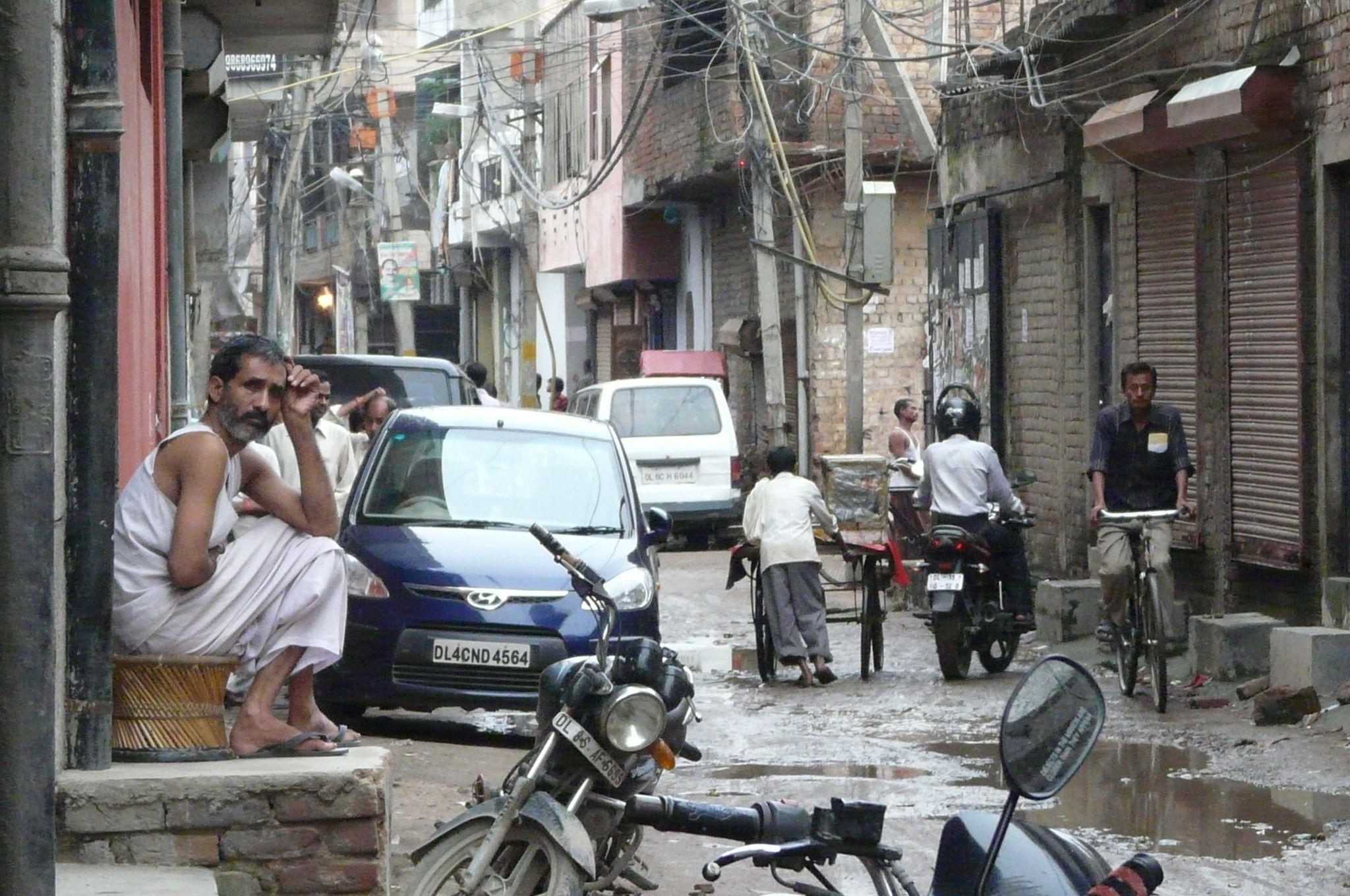 Street View, New Delhi, Street