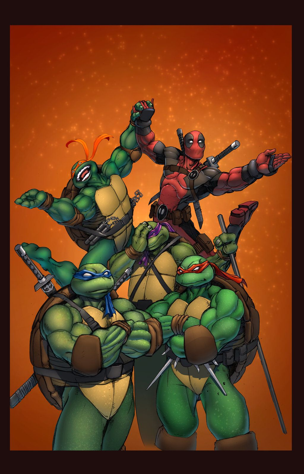 Cowa Changa By Siriussteve On Deviantart Tmnt Teenage Mutant Ninja Turtles Ninja Turtles