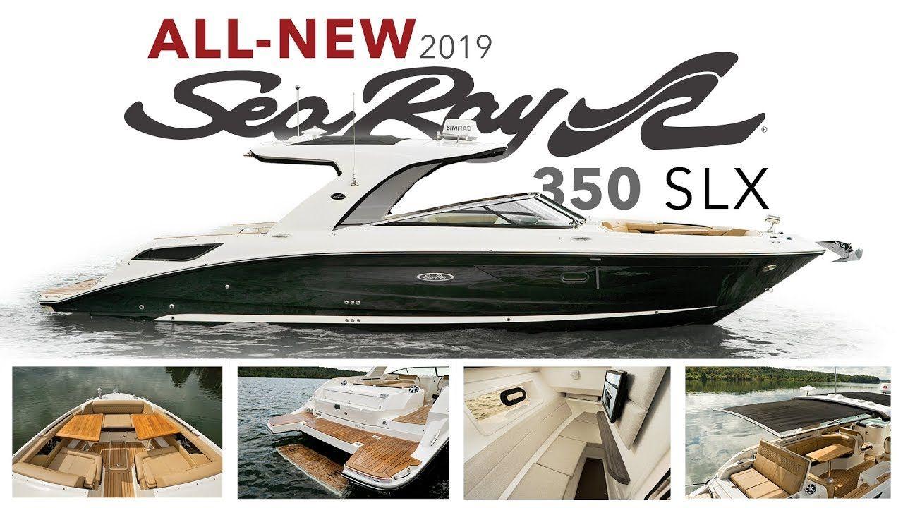 Sensational Sea Ray Slx 350 Arrives Sea Ray Boat Sport Boats Sensation