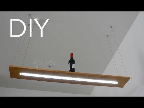 Diy designer lampe anleitung zum selber bauen youtube for Esstisch lampe selber bauen