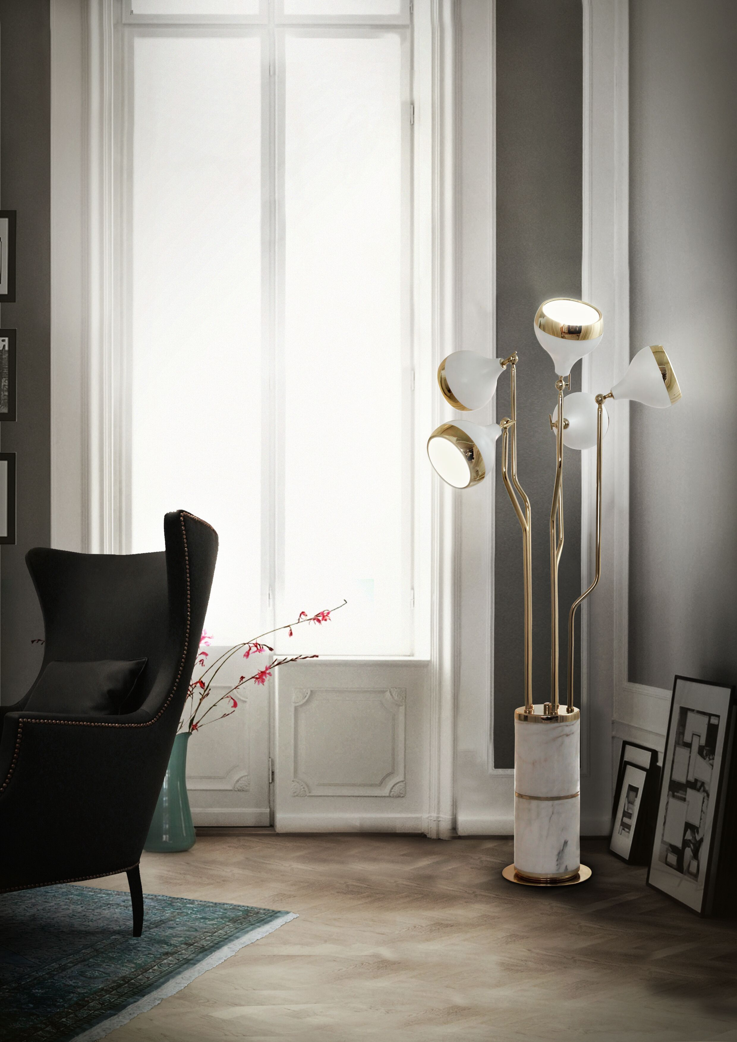 Wohnzimmer luxus wohnzimmer samt sofa messing couchtisch www