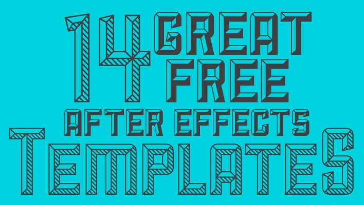 Best Ae Templates. 50 top adobe after effects projects and ...