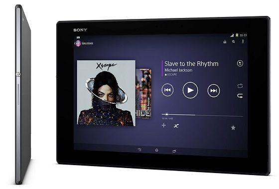Xperia Z2 Tablet sở hữu cấu hình khủng và thiết kế đẹp hơn