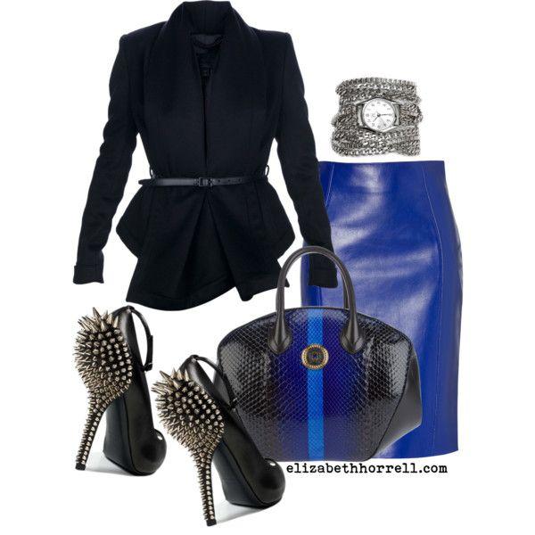 Azúl & negro .... lindo