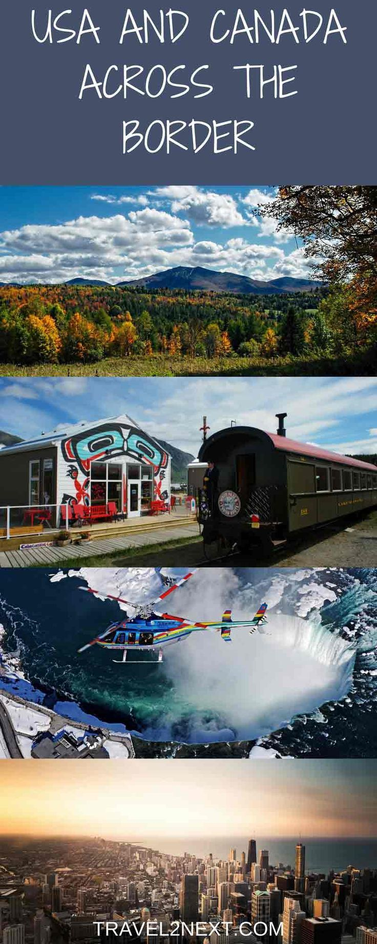 6 usa and canada border vacations travel around the