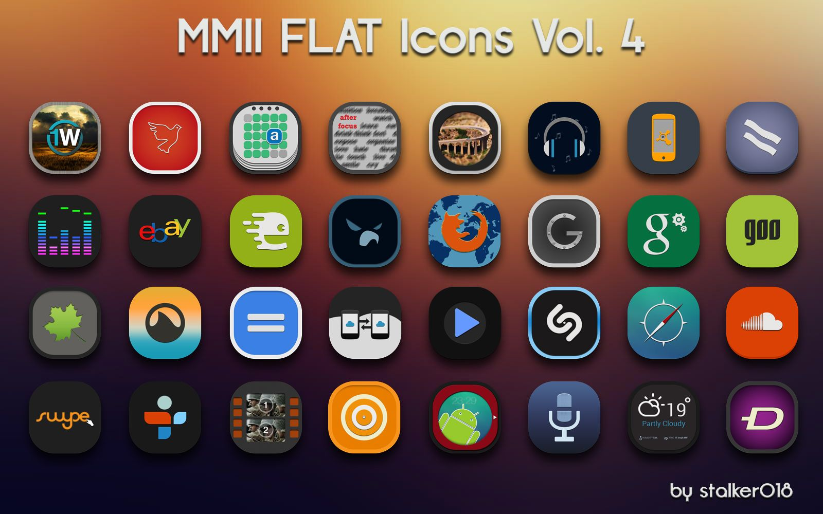 MMII FLAT Icons Vol.4 by on