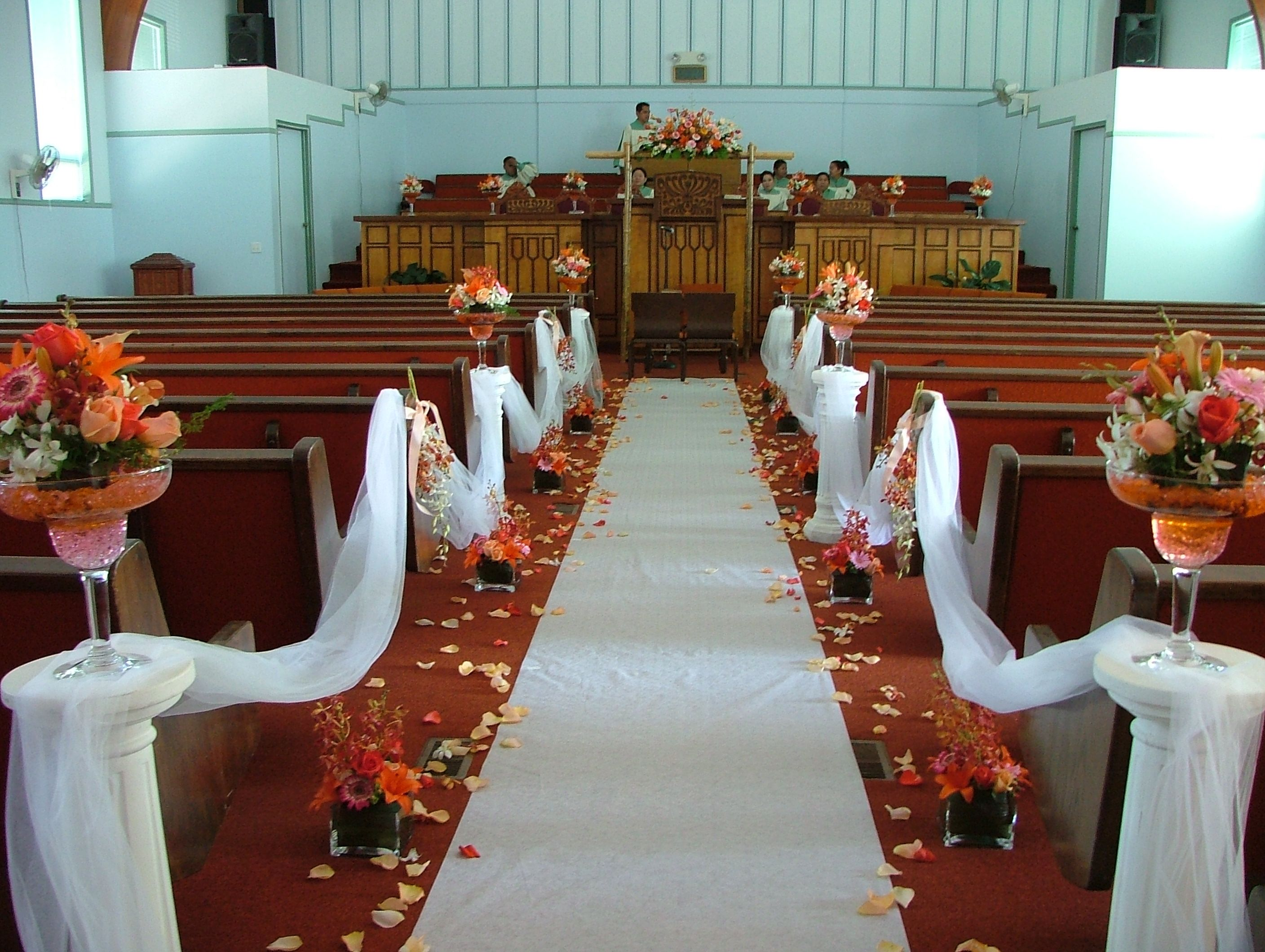 How To Decorate A Church For A Wedding Ceremony Ideas Wedding