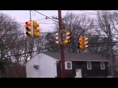 Short Yellows Ocean Ave Red Light Camera Light Red Ocean