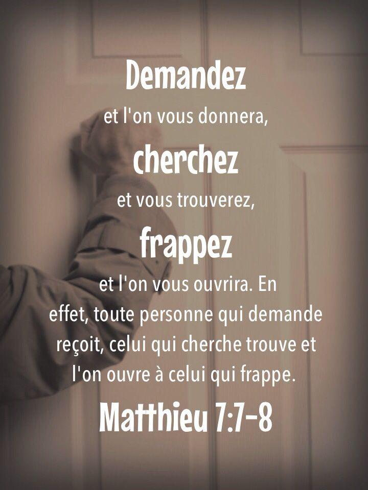 Texte de remerciement biblique