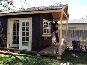 The party shed home decor pinterest gartenhaus haus and garten - Party gartenhaus ...