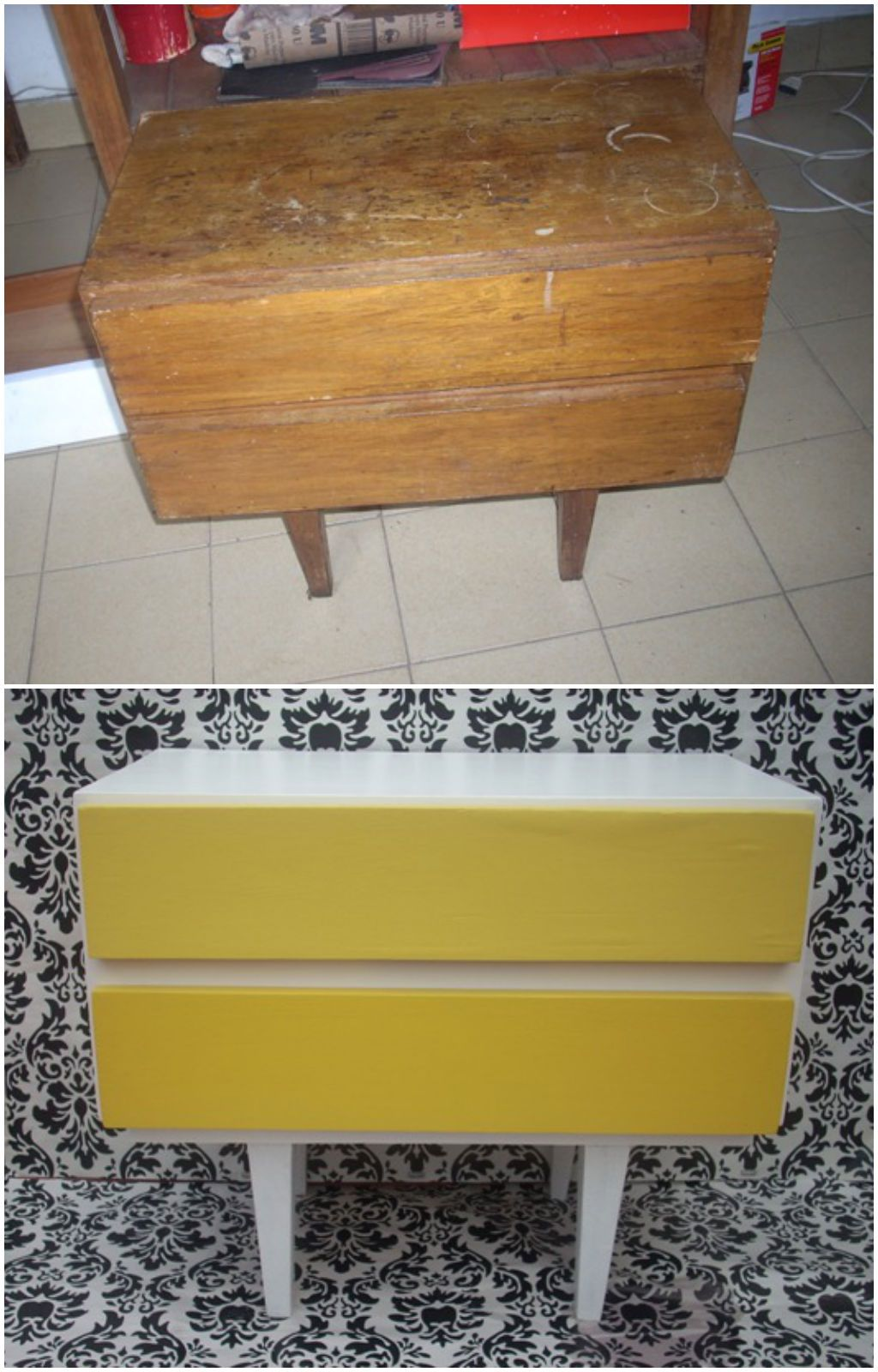Vintage Muebles Y Objetos Before After By Cositas Vintage Muebles Pintados