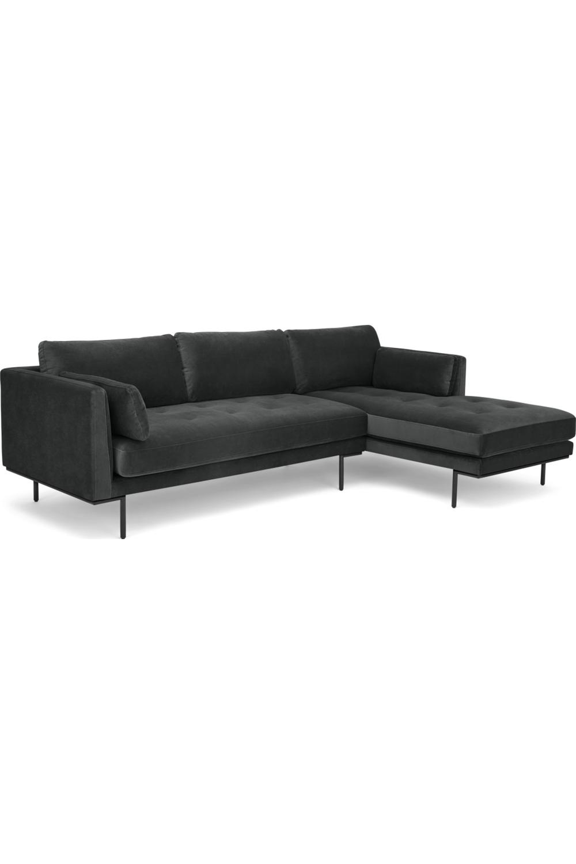 Made Ecksofa Grau Ecksofa Sofa Recamiere